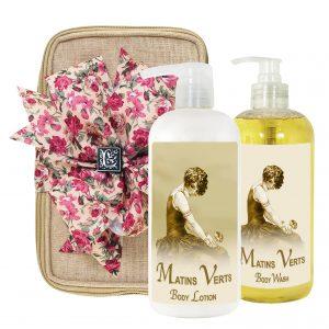 Matins Verts Body Lotion & Body Wash (17oz)