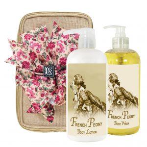 French Peony Body Lotion & Body Wash (17oz)