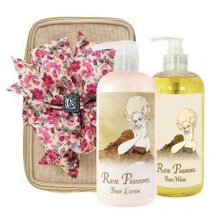 Reve Passionel Body Lotion & Body Wash (17oz)