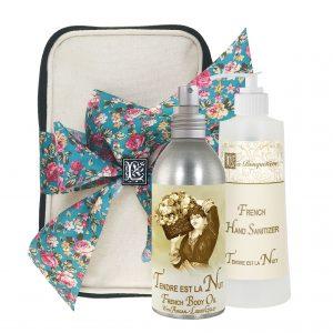 Tendre est la Nuit Body Argan Oil (8oz) & Hand Sanitizer (9oz)