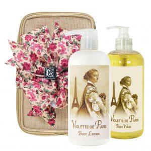Violette de Paris Body Lotion & Body Wash (17oz)