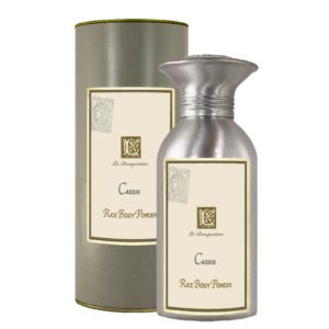Cassis Rice Body Powder Canister (8oz)
