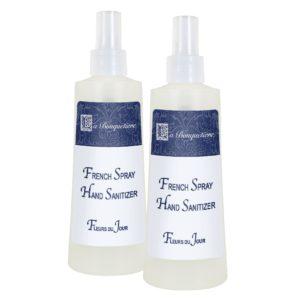 French spray hand sanitizer x2