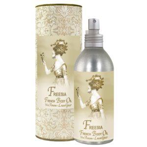 Freesia French Body Argan Oil