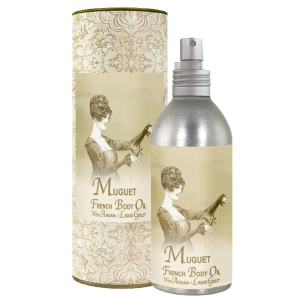 Muguet French Body Argan Oil