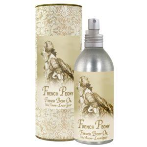 French Peony French Body Argan Oil