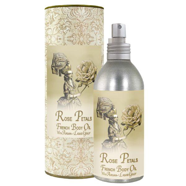 Rose Petal French Body Argan Oil