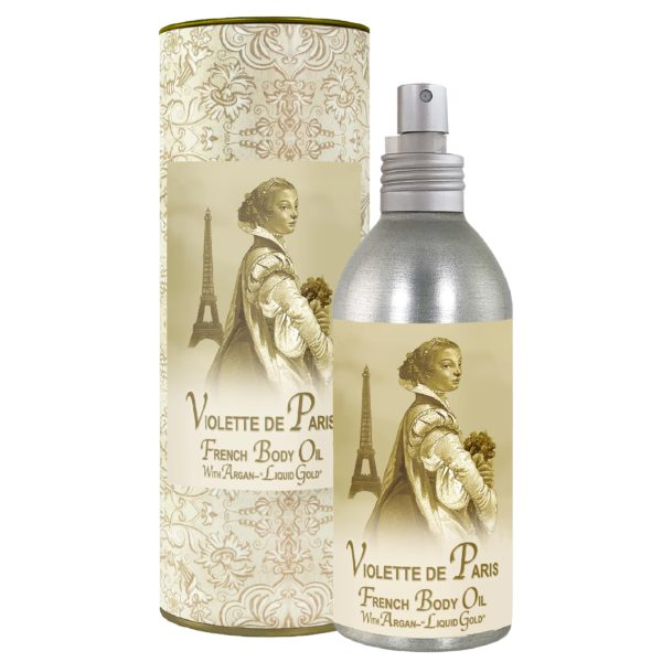 Violette de Paris French Body Argan Oil