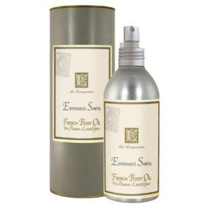 Men Esperance Santal French Body Argan Oil (8oz)