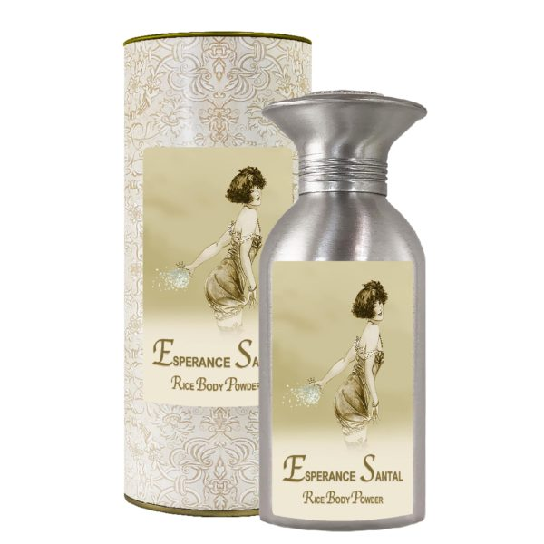 Esperance Santal Rice Body Powder Canister (8oz)