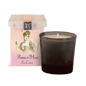 Ambre et Mure Soy Candle (50 to 60 hours burning time)