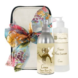 Citron Body Argan Oil (8oz) & Hand Sanitizer (9oz)
