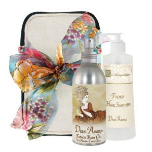 Desir Body Argan Oil (8oz) & Hand Sanitizer (9oz)
