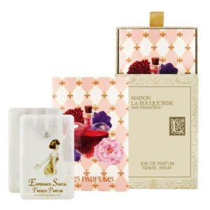 Esperance Santal Eau de Parfum Travel Spray Cards, 2 x 0.67 oz./20 ml.