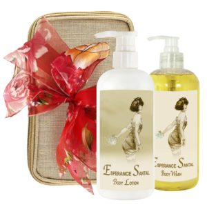 Esperance Santal Body Lotion & Body Wash