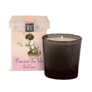 Feuilles de Thè Vert Soy Candle (50 to 60 hours burning time)