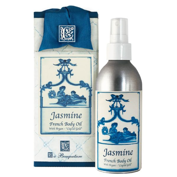 Jasmine French Body Argan Oil (8oz)