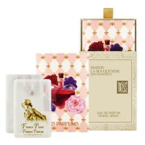 French Peony Eau de Parfum Travel Spray Cards, 2 x 0.67 oz./20 ml.