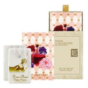 Plaisir Eau de Parfum Travel Spray Cards, 2 x 0.67 oz./20 ml.