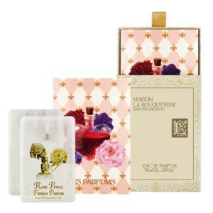 Rose Petals Eau de Parfum Travel Spray Cards, 2 x 0.67 oz./20 ml.