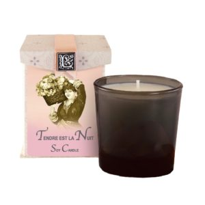 Tendre est la Nuit Soy Candle (50 to 60 hours burning time)