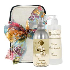 Tuberosa Body Argan Oil (8oz) & Hand Sanitizer (9oz)