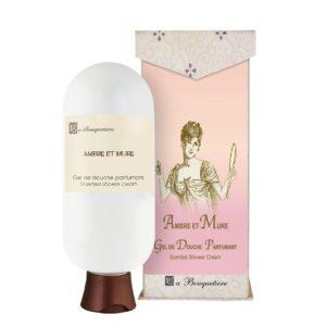 Ambre et Mure Gel de douche parfumant - Scented shower cream (6oz)