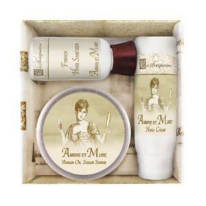 Ambre et Mure Scrub Gift Set