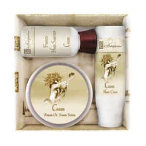 Cassis Scrub Gift Set