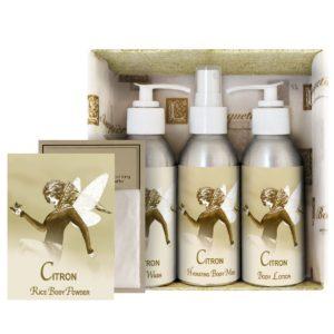 Citron Gift Set (4oz Lotion/Mist/Wash - Bonus Rice Body Powder Envelope)
