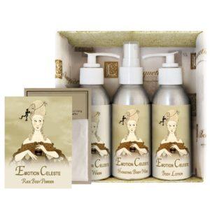 Emotion Gift Set (4oz Lotion/Mist/Wash - Bonus Rice Body Powder Envelope)