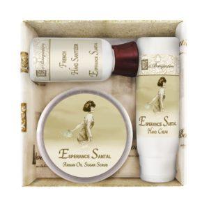 Esperance Santal Scrub Gift Set