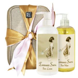 Esperance Santal Body Lotion & Body Wash