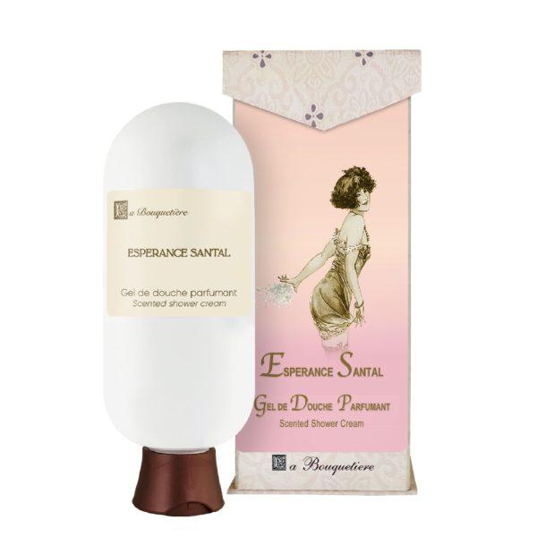 Esperance Santal Gel de douche parfumant - Scented shower cream (6oz)