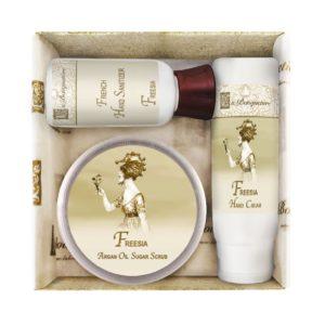Freesia Scrub Gift Set