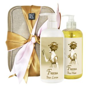 Freesia Body Lotion & Body Wash