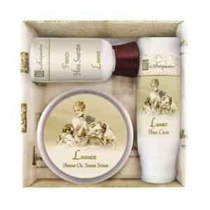 Lavender Scrub Gift Set