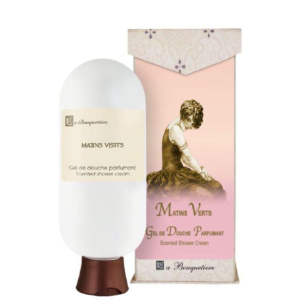 Matins Verts Gel de douche parfumant - Scented shower cream (6oz)