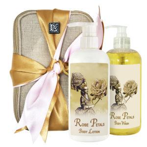 Rose Petals Body Lotion & Body Wash