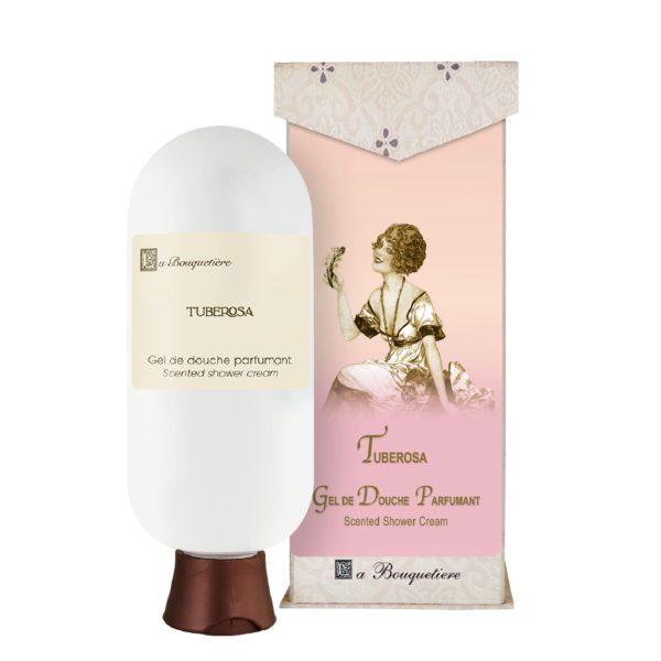 Tuberosa Gel de douche parfumant - Scented shower cream (6oz)