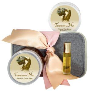 Tendre est la Nuit Body Butter (8oz), Sugar Scrub (8oz) & Roll-on Parfum (10ml)